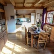 Chalet in Bayern mit Küche-Essen-Wohnen