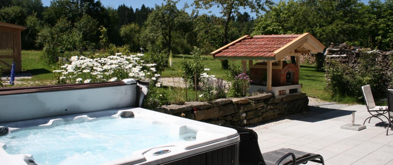 Beim Wartner - Chalet Jagdhaus mit Whirlpool