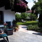 Ferienhaus Terrasse in Bayern