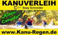 Kanu Regen im Bayerischen Wald