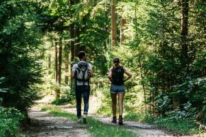 Wandertouren starten direkt vor der Tür